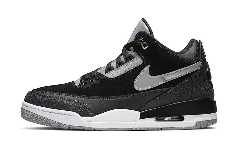 detailed look 1d131 7dfe0 The 'Black Cement' Air Jordan 3 Tinker Will Be Released This Weekend