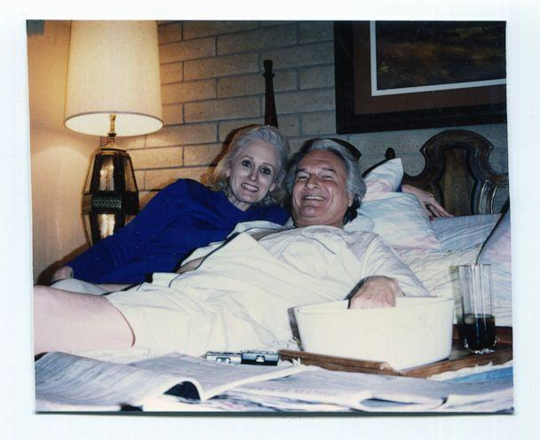 PHOTO: Margaret and Ron Rudin pictured in a bed at an unknown date. (Margaret Rudin)