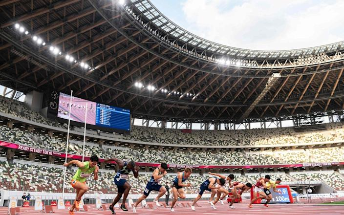 Tokyo Olympics - CHARLY TRIBALLEAU/AFP