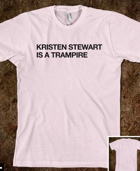 'Kristen Stewart Is A Trampire' - The Affair Saga Continues With Nasty Slogan T-shirts