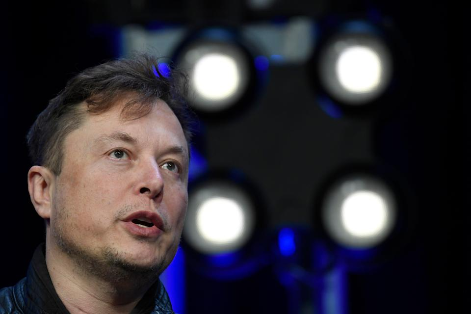 Tesla-Bitcoin (Copyright 2020 The Associated Press. All rights reserved.)