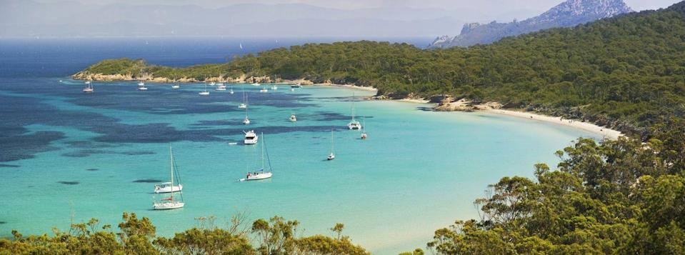 <p>With a population of 200, much of Porquerolles is a nature reserve. Back in 1912, it was a private island—François Joseph Fournier gave it to his wife as a wedding gift and started a vineyard. Now it's most famous for hosting asummer jazz festival. It's worth visiting for the day by boat if you're staying in the nearby town of Hyères<strong>.</strong></p>