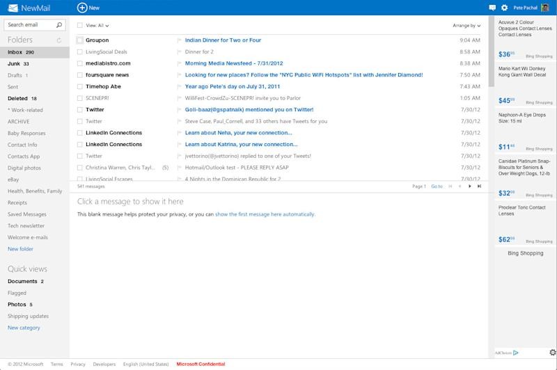 Hotmail Becomes Outlook