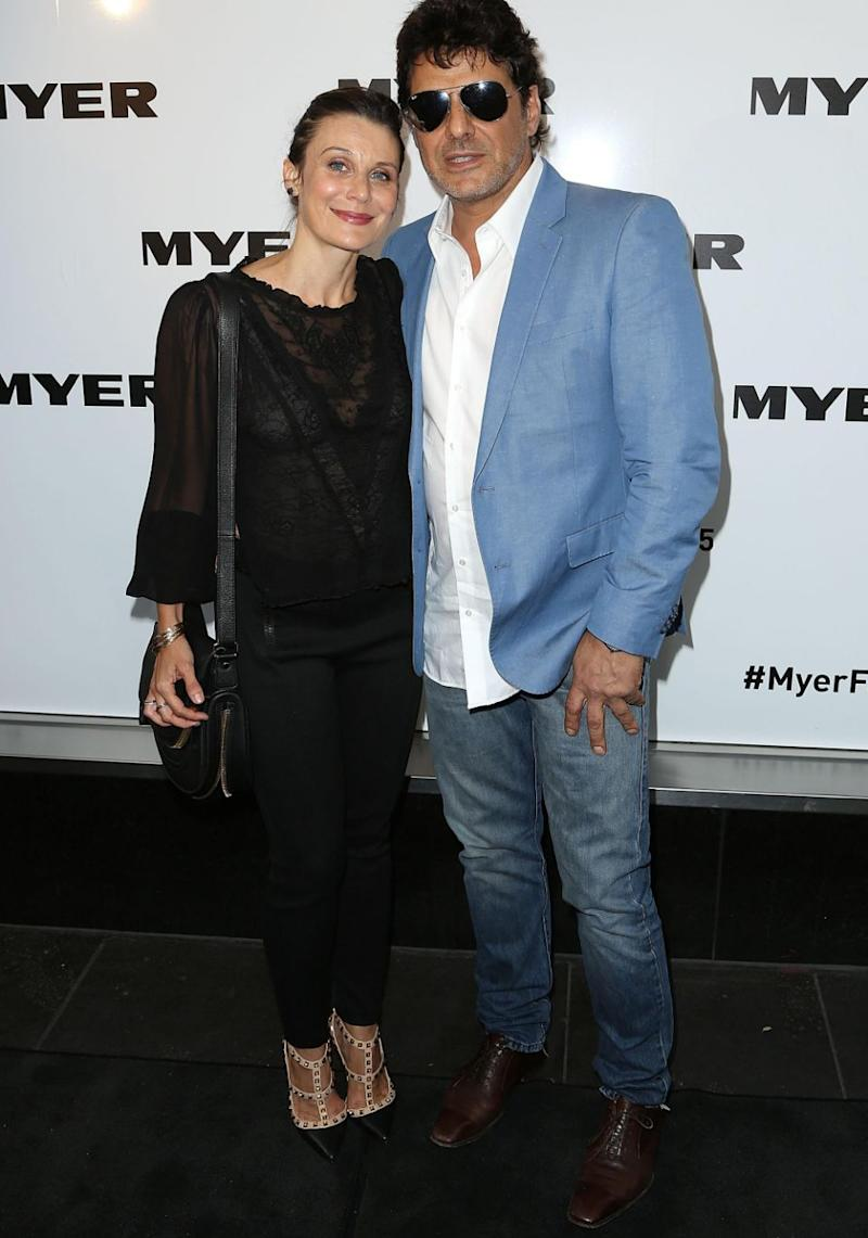 The pair met back in 2009 and have a three-year-old son together. Source: Getty