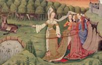 <p>In early medieval times, dresses started to become more intricate. Heavy and ornate fabric was a sign of wealth, so dresses began being constructed in pieces and layers. </p>