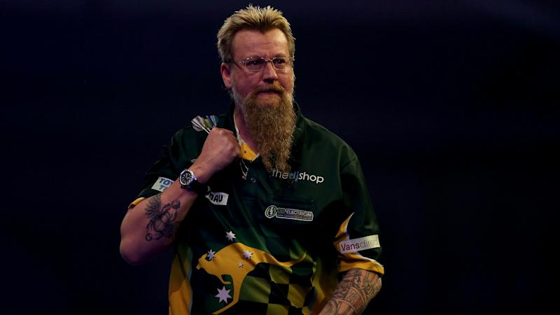Michael Van Gerwen dumped out by Simon Whitlock in World Matchplay