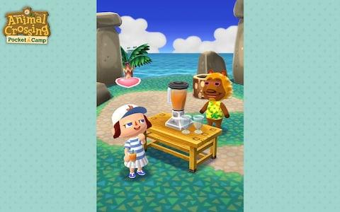 Animal Crossing Pocket Camp Smoothie