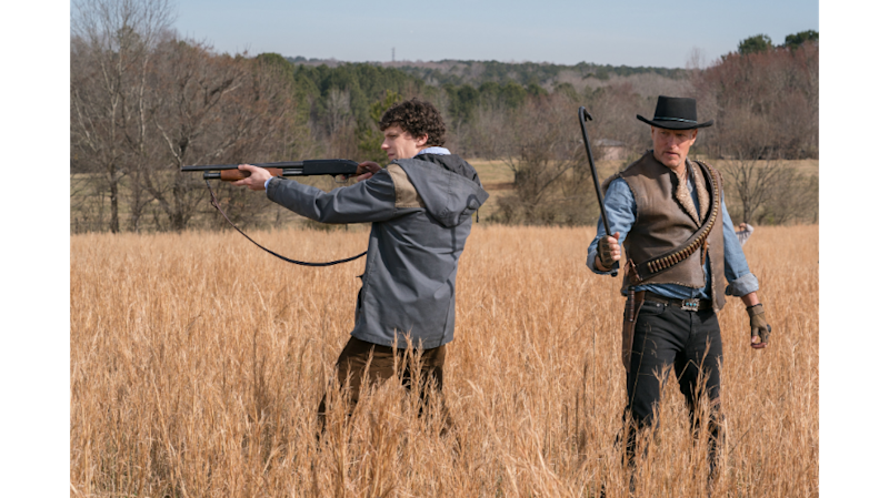 "Jesse Eisenberg and Woody Harrelson in ""Zombieland: Double Tap"" (Photo: Sony Pictures)"