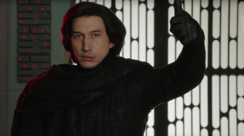 """Star Wars"" fans were prepared to see planets and stars, but no one seemed ready for Kylo Ren's heavenly body."