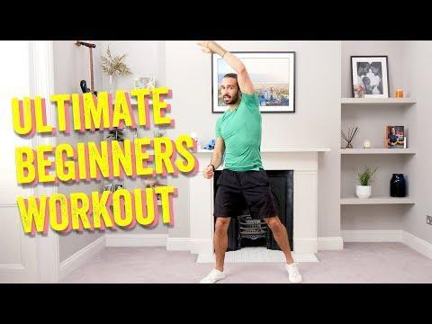 "<p>You'll know him as the king of <a href=""https://www.womenshealthmag.com/uk/home-workouts/"" rel=""nofollow noopener"" target=""_blank"" data-ylk=""slk:home workouts"" class=""link rapid-noclick-resp"">home workouts</a> but get ready to call <a href=""https://www.womenshealthmag.com/uk/joe-wicks/"" rel=""nofollow noopener"" target=""_blank"" data-ylk=""slk:Joe Wicks"" class=""link rapid-noclick-resp"">Joe Wicks</a> your PT, too. This made for beginners workout is low intensity and low-impact which makes it a great choice for absolute newbies and those returning to exercise after a little time away. </p><p><strong>Equipment: </strong>None</p><p><strong>RELATED: </strong>53 <a href=""https://www.womenshealthmag.com/uk/food/a707781/joe-wicks-recipes/"" rel=""nofollow noopener"" target=""_blank"" data-ylk=""slk:Joe Wicks recipes"" class=""link rapid-noclick-resp"">Joe Wicks recipes</a> to whip up today</p><p><a href=""https://www.youtube.com/watch?v=7HqGCwt4F1I&ab_channel=TheBodyCoachTV"" rel=""nofollow noopener"" target=""_blank"" data-ylk=""slk:See the original post on Youtube"" class=""link rapid-noclick-resp"">See the original post on Youtube</a></p>"