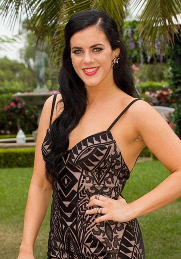 Her lips appeared a lot smaller last year when she appeared on The Bachelor. Source: Supplied