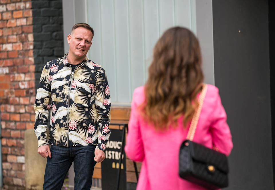 FROM ITV  STRICT EMBARGO - No Use Before Tuesday 15th June 2021  Coronation Street - Ep 1036061  Friday 25th June 2021  Sean Tully [ANTONY COTTON] asks Daniel to write a news article exposing Double Glammy for the rip-off it is. So when Daisy Midgeley [CHARLOTTE JORDAN] returns from the bank, announcing she's secured a loan off the back of her Double Glammy earnings, she's incandescent.   Picture contact David.crook@itv.com   Photographer - Danielle Baguley  This photograph is (C) ITV Plc and can only be reproduced for editorial purposes directly in connection with the programme or event mentioned above, or ITV plc. Once made available by ITV plc Picture Desk, this photograph can be reproduced once only up until the transmission [TX] date and no reproduction fee will be charged. Any subsequent usage may incur a fee. This photograph must not be manipulated [excluding basic cropping] in a manner which alters the visual appearance of the person photographed deemed detrimental or inappropriate by ITV plc Picture Desk. This photograph must not be syndicated to any other company, publication or website, or permanently archived, without the express written permission of ITV Picture Desk. Full Terms and conditions are available on  www.itv.com/presscentre/itvpictures/terms