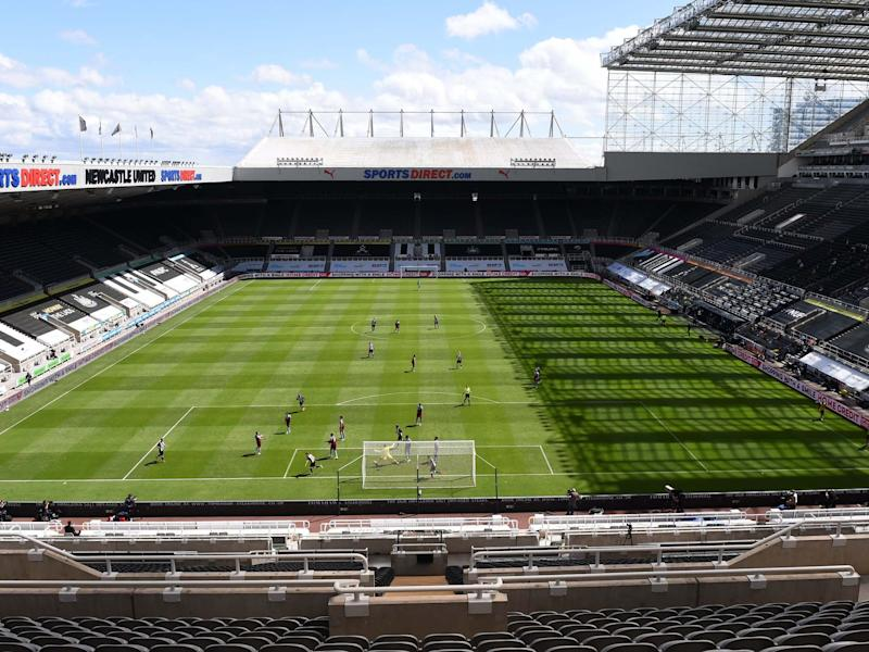 St James' Park, home of Newcastle United: Reuters