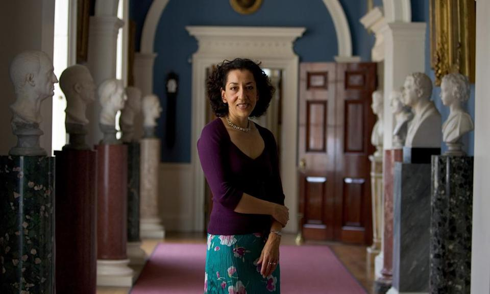 Andrea Levy, pictured in Althorp House in Northampton in 2005.