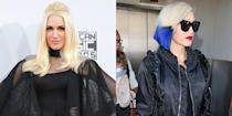 <p>Gwen's divorce from Gavin Rossdale was heartbreaking. But the singer picked herself up, dyed her hair blue, and moved on with Blake Shelton. All was right in the world again.</p>