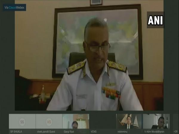 Vice Admiral G Ashok Kumar, Vice Chief of Naval Staff (Photo/ANI)