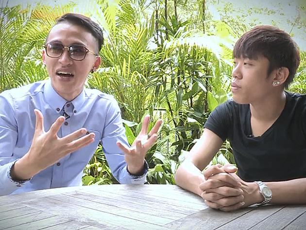 """Ah Boys To Men"" actors Tosh Zhang and Wang Wei Liang tell Yahoo! Singapore what they hope Part III will be like. (Screengrab from video)"