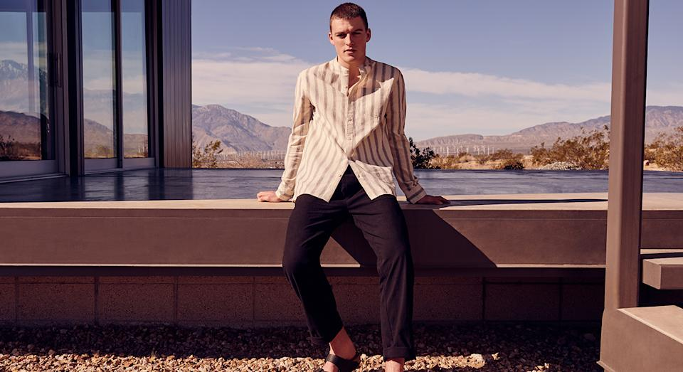 Warehouse debut menswear collection is here. (Warehouse)