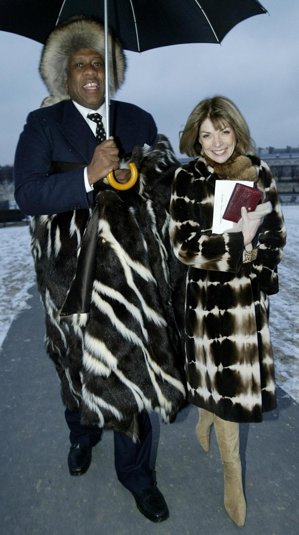 Andre Leon Talley anna wintour - Stephen Lock Retained