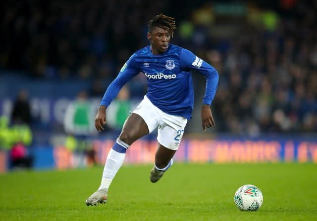 Could Moise Kean be on his way out of Goodison Park? (Nick Potts/PA)