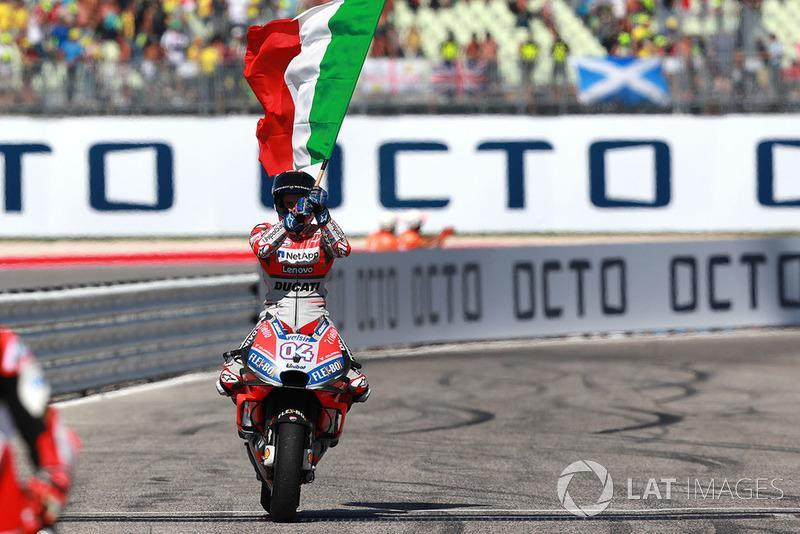 """5- Andrea Dovizioso<span class=""""copyright"""">Gold and Goose / Motorsport Images</span>"""
