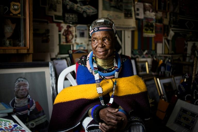 South Africa's famous artist Esther Mahlangu, who has had no formal art training, rose to global acclaim using a skill passed down for generations