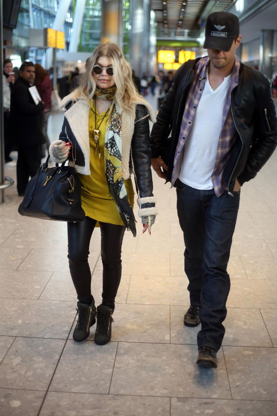 Fergie and Josh announced their separation in September. (Credit: PA)
