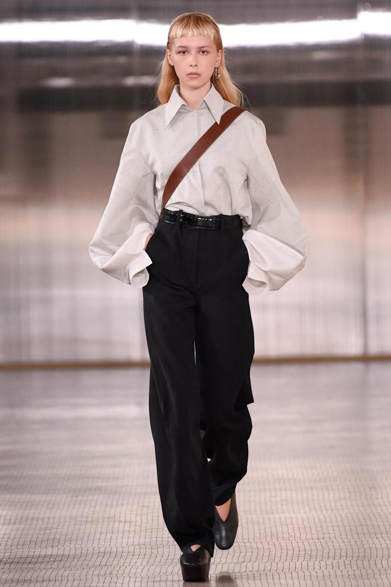 Lemaire at PFW (Rex Features)