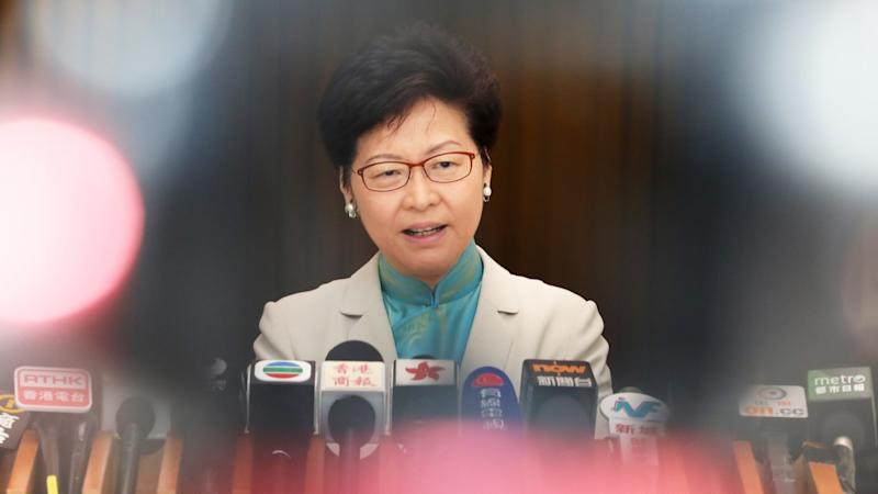 No 'secret' operations under way at controversial high-speed cross-border rail link, Hong Kong leader Carrie Lam says