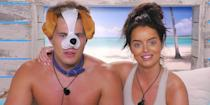 """<p><strong>Relationship status: <strong>Broken up / </strong></strong><strong>Mugged off</strong></p><p>Curtis and Maura lasted an entire eight months before <a href=""""https://www.cosmopolitan.com/uk/entertainment/a31200421/love-islands-maura-curtis-split/"""" rel=""""nofollow noopener"""" target=""""_blank"""" data-ylk=""""slk:splitting"""" class=""""link rapid-noclick-resp"""">splitting</a>, which is basically an eternity when it comes to Love Island relationships. Sharing the sad news with fans, Maura wrote on Instagram: """"Curtis and I have made the decision to separate. We enjoyed a great experience from our time in the villa and want to thank everyone for supporting our relationship.""""</p><p>Maura continued: """"There is no easy way to get through a break-up and no bad feeling on either side. We tried to make it work but it wasn't to be and I wish Curtis nothing but the best for the future.""""<br></p>"""