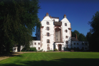 """<p>Live out your fairy tale dreams with an overnight stay at this gorgeous castle. Built in 1604, it has its own drawing room, roaring fireplaces, a traditional kitchen and 750 acres of parkland and farm. When you're not exploring the inside space, we recommend you take part in professional whisky tasting – just ask owner Elisabetta to arrange it for you. </p><p><strong>Guests: </strong>Up to 10<br><strong>Pricing: </strong>From £680</p><p><a class=""""link rapid-noclick-resp"""" href=""""https://go.redirectingat.com?id=127X1599956&url=https%3A%2F%2Fwww.vrbo.com%2Fen-gb%2Fp10821883&sref=https%3A%2F%2Fwww.countryliving.com%2Fuk%2Ftravel-ideas%2Fstaycation-uk%2Fg35804522%2Fgroup-accommodation-holiday-homes-uk%2F"""" rel=""""nofollow noopener"""" target=""""_blank"""" data-ylk=""""slk:BOOK NOW"""">BOOK NOW</a></p>"""