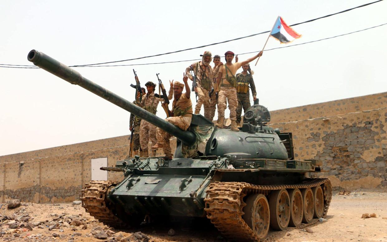 Separatist forces seized government buildings in Aden - REX