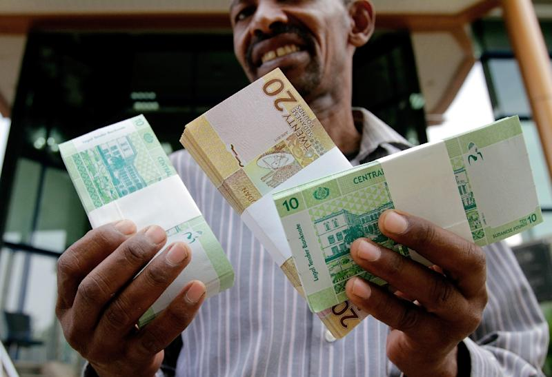 The Sudanese Pound Ha A New Low Against Us Dollar On Black Market