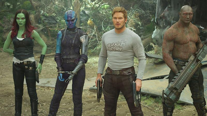 An image from one of the best Marvel movies Guardians of the Galaxy Vol. 2