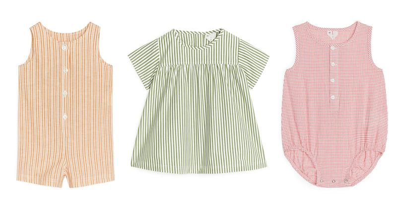 Arket's baby range has a focus on sustainability and style. (Arket/Yahoo UK)