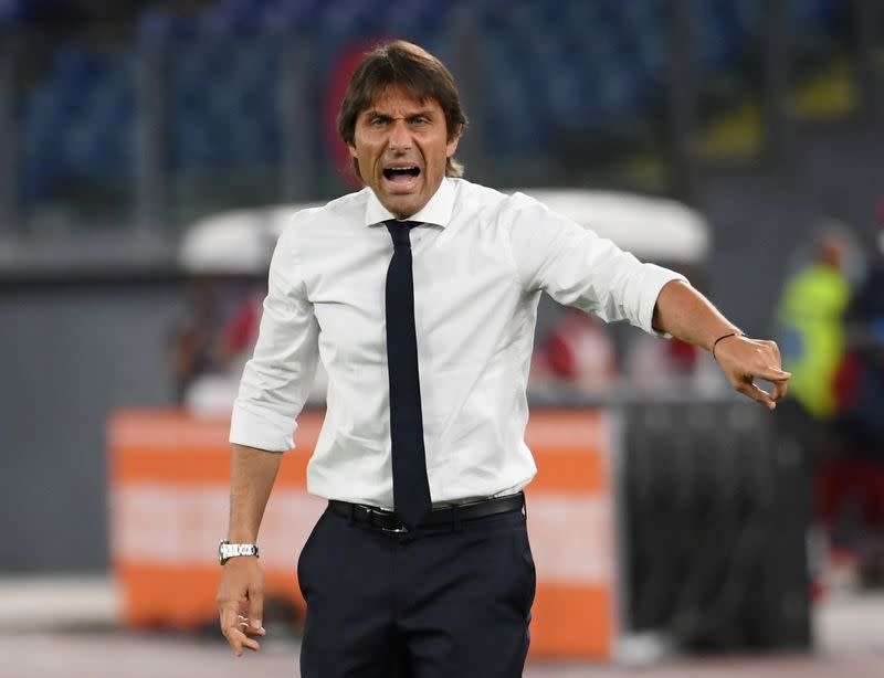 Conte says Serie A getting more competitive despite Juve dominance