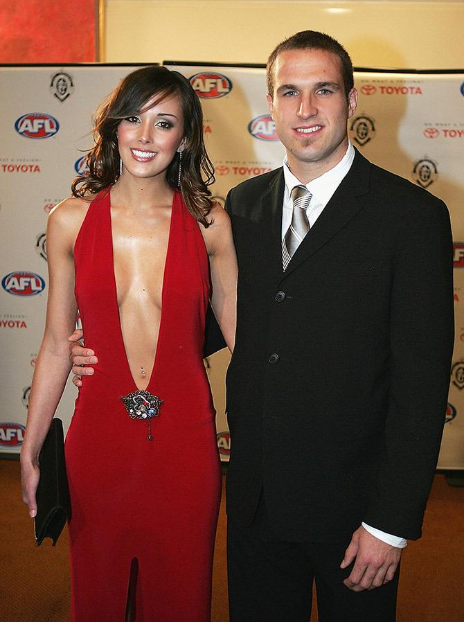 Rebecca Twigley at the 2004 Brownlow Medal awards.