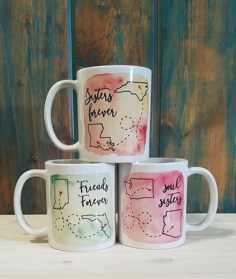 """<p><strong>TravelingTreeDesign</strong></p><p>etsy.com</p><p><strong>$17.00</strong></p><p><a href=""""https://go.redirectingat.com?id=74968X1596630&url=https%3A%2F%2Fwww.etsy.com%2Fca%2Flisting%2F242380468%2Flong-distance-mug-state-mug-best-friend&sref=https%3A%2F%2Fwww.womansday.com%2Flife%2Fg971%2Fgifts-under-20-dollars%2F"""" rel=""""nofollow noopener"""" target=""""_blank"""" data-ylk=""""slk:SHOP NOW"""" class=""""link rapid-noclick-resp"""">SHOP NOW</a></p><p>The perfect personalized gift for the friend or family member who isn't close by. Choose a sweet sentiment and the different locations where you and a loved one are for a custom mug that will always make the recipient think of you whenever they go to sip from it.</p>"""