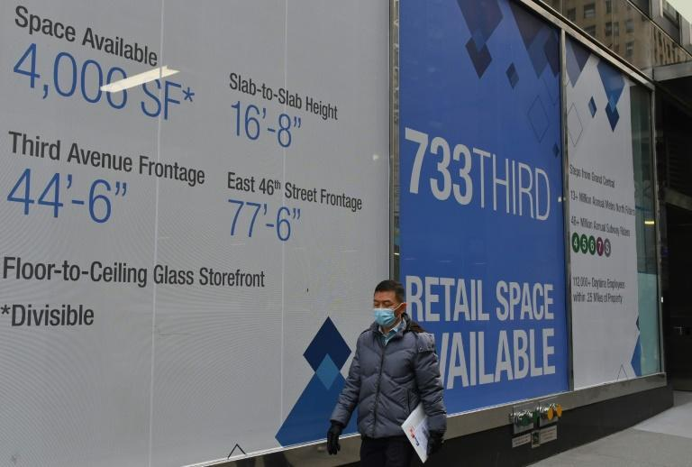 With sparse foot traffic as most workers stay home to telecommute, there are few customers and businesses are hurting in downtown Manhattan