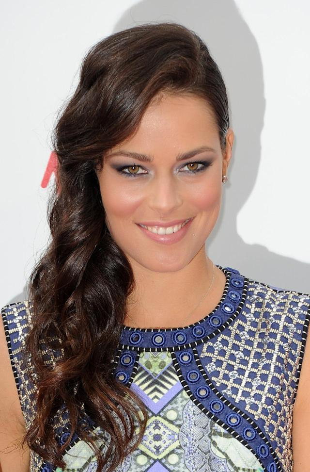Ana Ivanovic attends the WTA Pre-Wimbledon Party at The Roof Gardens, Kensington High Street, London.