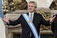 Argentina President Alberto Fernandez says his new taxes will help protect the most vulnerable sectors of society