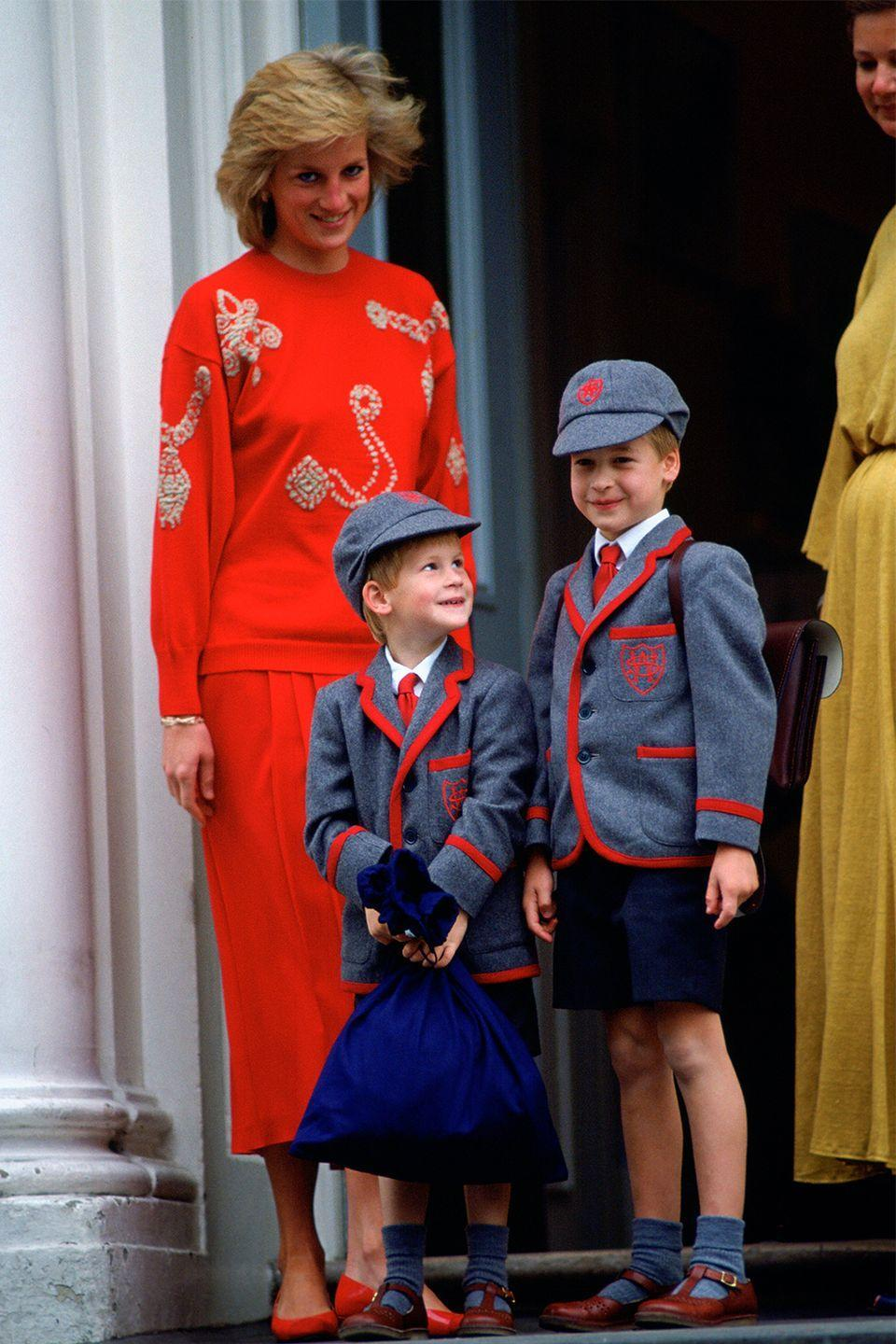 <p>Prince Charles broke royal tradition when he was sent to a prep school at eight years old (since, generally, royal children opted for private tutors), but Princess Diana took it one step further by sending both William and Harry to nursery school. <br></p>