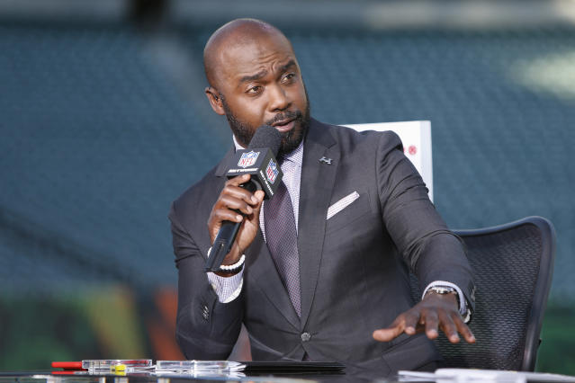 NFL Network has reportedly suspended Marshall Faulk after he was named in a sexual harassment lawsuit. (AP)