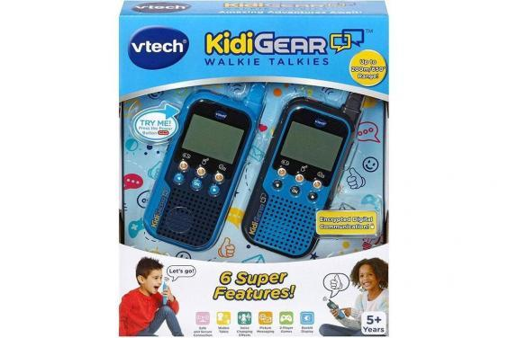 Which? warns that a stranger could contact a child using the Vtech KidiGear walkie-talkies