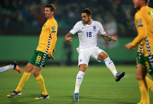 Danny Ings has not played for England since his debut against Lithuania in 2015.