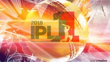 The points table for the IPL 2018 will be updated after each match.