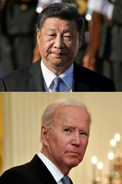 Chinese President Xi Jinping and his US counterpart Joe Biden are locked in a race for technological and innovation supremacy
