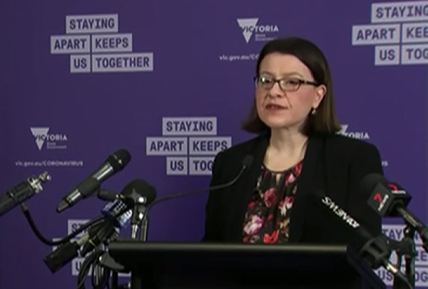 Health Minister Jenny Mikakos announced a further 16 coronavirus cases on Monday. Source: ABC