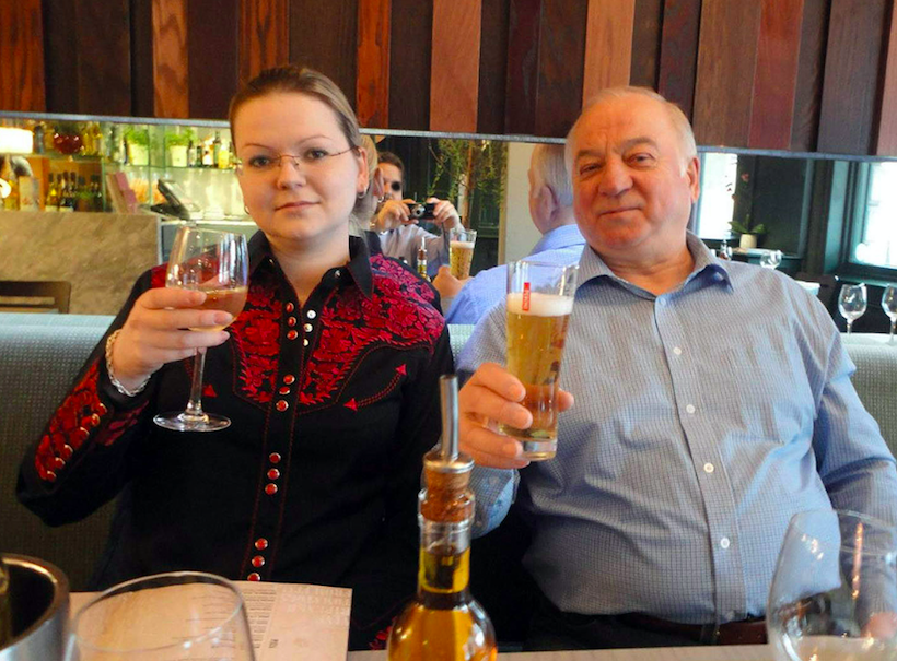 <em>Police are believed to have identified the suspected perpetrators of the Novichok attack on Russian former spy Sergei Skripal and daughter Yulia (Rex)</em>