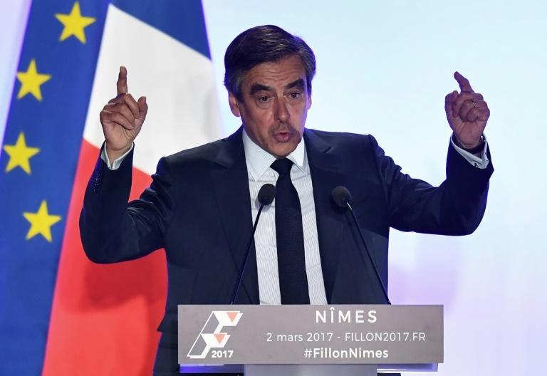 Fillon is set to be charged over allegations he paid his wife and children hundreds of thousands of euros for fake parliamentary jobs